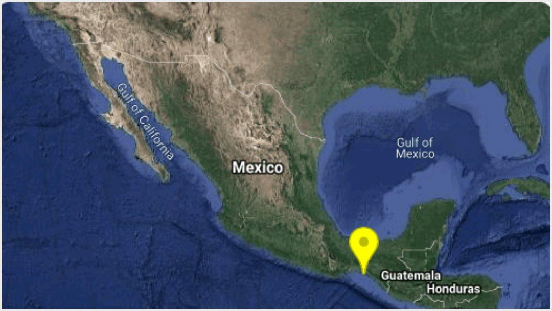 Foto: Se registra sismo en Chiapas, 21 de septiembre de 2019 (SSN)