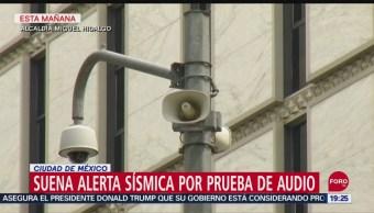 Foto: Suena Alerta Sísmica Miguel Hidalgo CDMX 11 Septiembre 2019