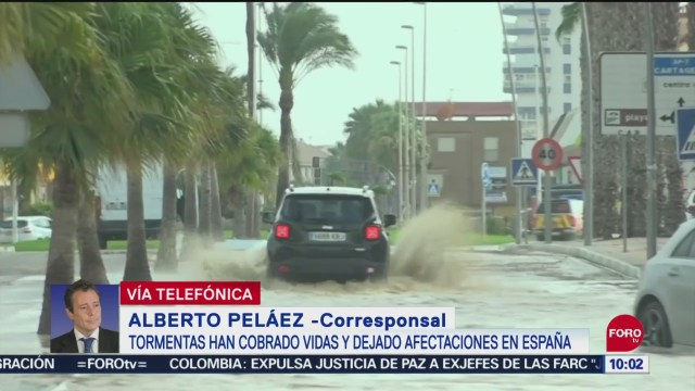 FOTO: Suman seis muertos por las tormentas en España, 14 septiembre 2019