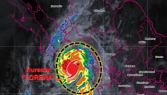 IMAGEN Suspenden clases en La Paz por huracán 'Lorena' (Conagua)