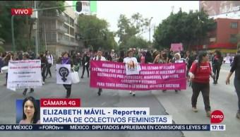 FOTO: Terremoto Feminista, Marcha Mujeres CDMX,