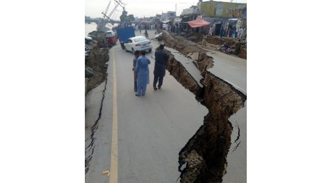 Foto: Daños por sismo en Pakistán, 24 de septiembre de 2019