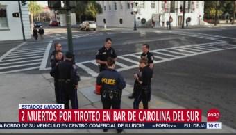 Foto: Tiroteo Carolina Del Sur Deja Dos Muertos 12 Heridas, 21 de septiembre de 2019