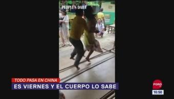 Todo Pasa En China: Es viernes y el cuerpo lo sabe