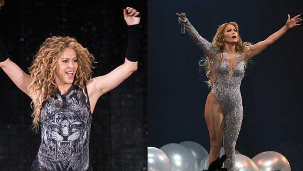 Imagen: Shakira y JLO subirán por primera vez juntas a un escenario, 26 de septiembre de 2019, (Getty Images, archivo)