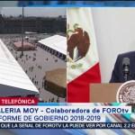 FOTO: Valeria Moy habla sobre la importancia del crecimiento económico en el país, 1 septiembre 2019