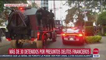 Foto: Al menos 30 Detenidos Presuntos Delitos Financieros CDMX 24 Septiembre 2019
