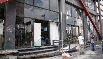 FOTO Vandalismo en marcha por Ayotzinapa causó daños por 100 mdp, estima Canirac (Cuartoscuro/Andrea Murcia) cdmx 26 sep 2019