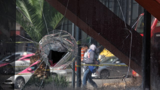 FOTO Vandalismo en marcha por Ayotzinapa causó daños por 100 mdp, estima Canirac (Cuartoscuro/Andrea Murcia) 26 septiembre 2019 cdmx