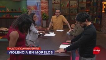 Foto: Violencia Morelos Grupos Delictivos 3 Septiembre 2019