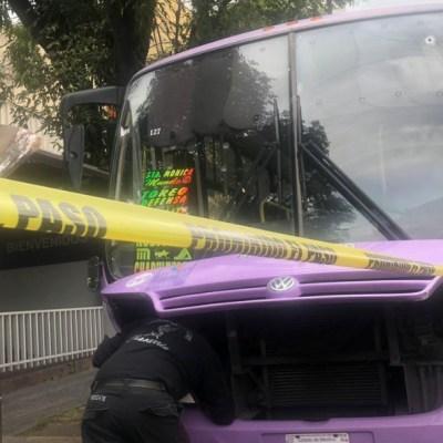 Matan a pasajera en balacera por asalto en transporte público, en Naucalpan