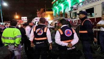 Gobernador de Veracruz contempla sanciones tras accidente de pirotecnia en Xalapa