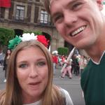 Foto Video: Youtubers estadounidenses, asombrados durante el Grito y Desfile de Independencia 19 septiembre 2019