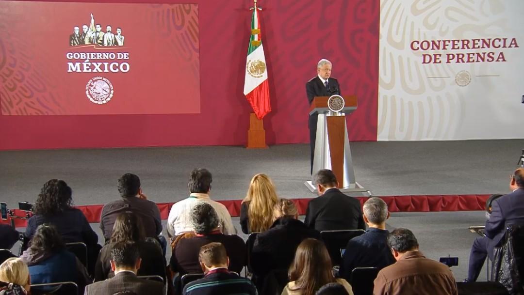 Foto: López Obrador en conferencia de prensa, 10 de octubre de 2019, Ciudad de México