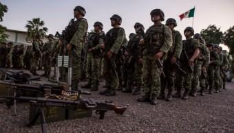 Foto: Los Fusileros Paracaidistas son una brigada especializada en operaciones de alto impacto contra el crimen organizado, 21 de octubre de 2019 (Omar Martínez /Cuartoscuro.com)