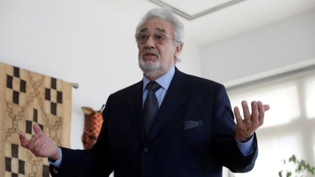 Plácido Domingo renunció a la dirección de LA Opera, 02 octubre del 2019 (Reuters)