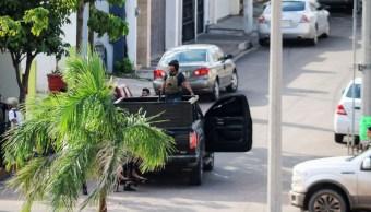 Aspectos de la balacera en Culiacán, Sinaloa. (Reuters)