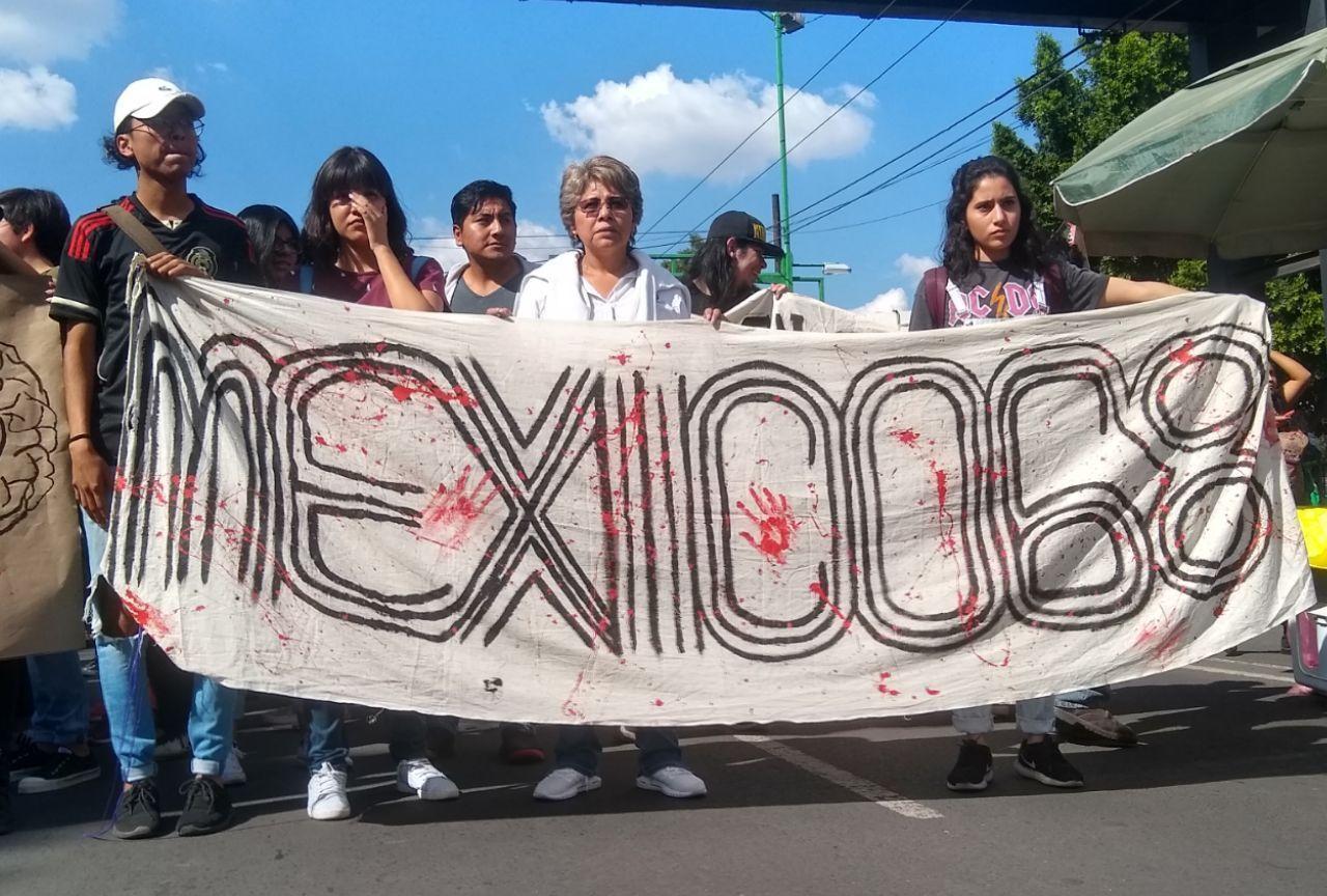 Preparativos de contingentes por la marcha, 02 octubre del 2019 (Elizabeth Jiménez/Plumas Atómicas)