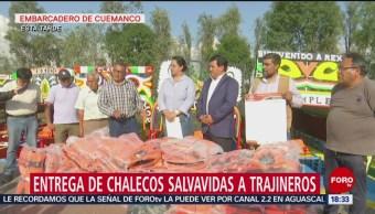 FOTO: Chalecos Salvavidas Son Obligatorios Xochimilco
