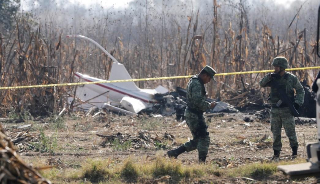 Foto: Accidente helicóptero Martha Erika Alonso, 25 de diciembre de 2018, Puebla