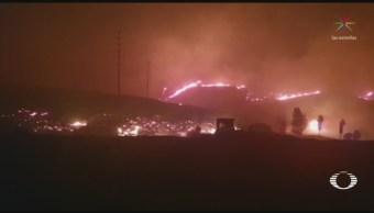 Foto: Baja California Incendios Forestales Activan Plan Marina 25 Octubre 2019