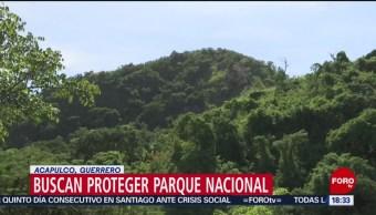 FOTO: Actividades irregulares amenazan Parque Nacional
