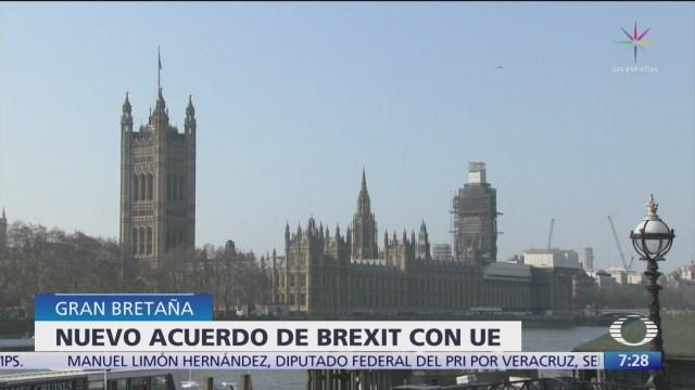 Acuerdo sobre Brexit será presentado ante Parlamento británico