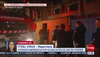 Foto: Acumulación Gas Genera Flamazo Iztapalapa 10 Octubre 2019