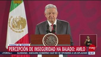 AMLO afirma que tiene confianza del pueblo, aun tras hechos en Culiacán pueblo