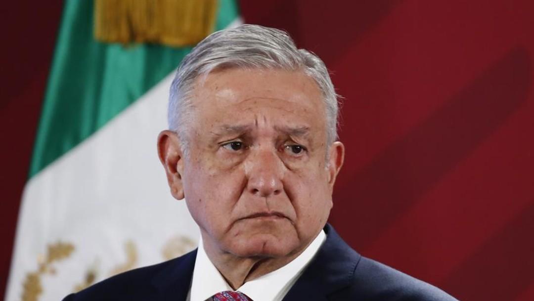 Foto: El presidente Andrés Manuel López Obrador durante la conferencia matutina del lunes 21 de octubre de 2019, el 21 de octubre de 2019 (EFE)