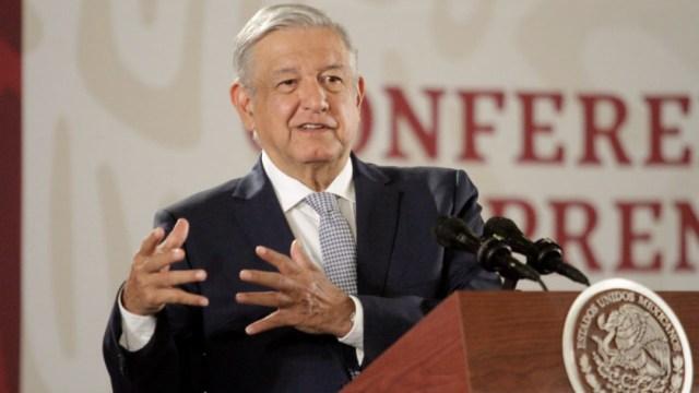 Foto: Andrés Manuel López Obrador, Presidente de México, durante su conferencia de prensa en Palacio Nacional, 2 octubre 2019
