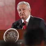 FOTO Andrés Manuel López Obrador, presidente de México durante conferencia de prensa Matutina en el Palacio Nacional, 11 octubre 2019