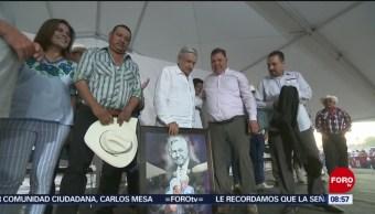 FOTO: AMLO promete mejores condiciones para indígenas en Sonora, 27 octubre 2019