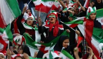 Foto: Mujeres iraníes en el partido de fútbol, 10 de octubre de 2019, (AP)