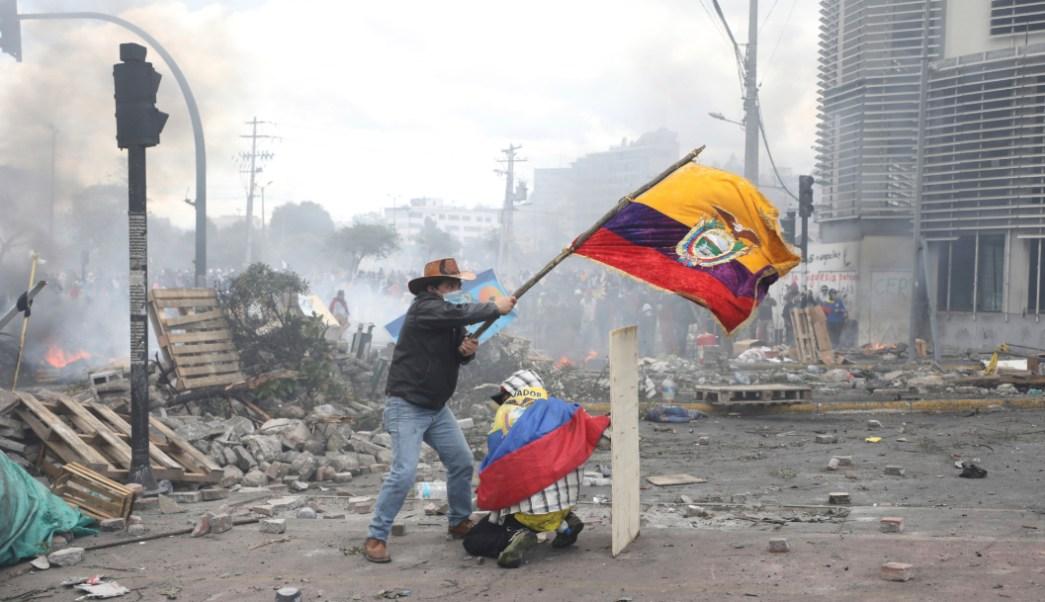 Foto: Las protestas y violencia se han intensificado, 12 de octubre de 2019, (AP)