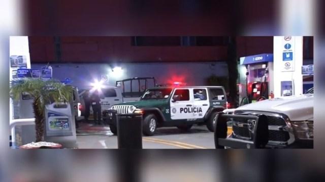 Foto: Una gasolinera fue asaltada durante los primeros minutos de este viernes en la CDMX, 25 octubre 2019