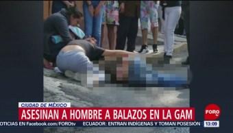 FOTO: Asesinan a balazos a hombre en la Gustavo A. Madero, 13 octubre 2019