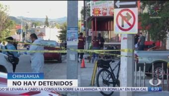 Asesinan a cuatro personas en una taquería de Chihuahua