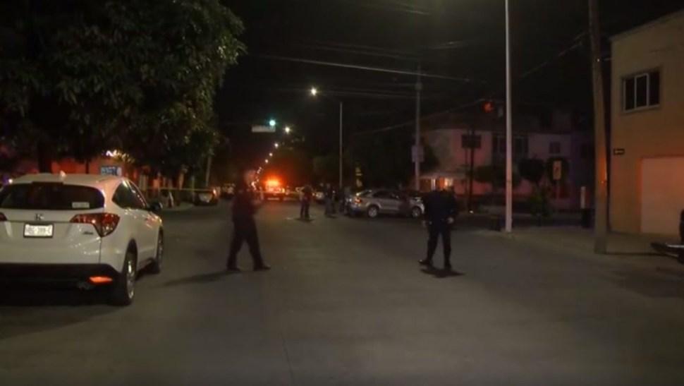 Foto: Asesinan a conductor de automóvil en el barrio de San Andrés, en Guadalajara, 10 octubre 2019