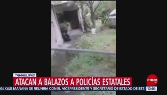 FOTO: Atacan Balazos Policías Estatales Tamaulipas