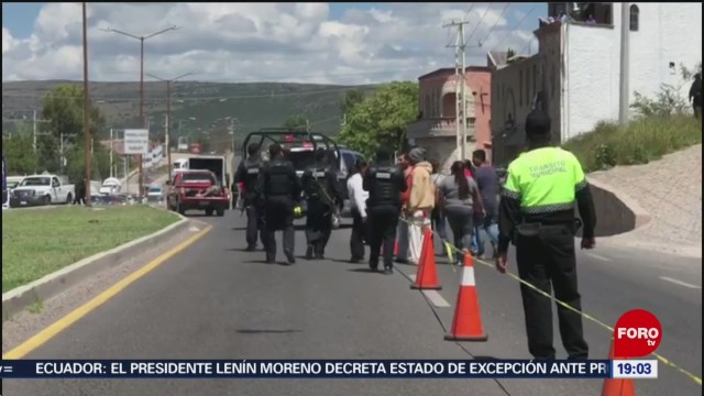 Foto: Ataque Funeral Muertos San Miguel De Allende Hoy 3 Octubre 2019