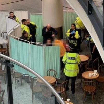 Ataque con cuchillo en centro comercial de Manchester deja 5 heridos