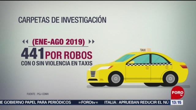 FOTO: Aumentan Delitos Cometidos Bordo Taxis