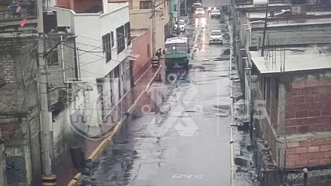 Foto: Autoridades CDMX atienden encharcamientos por lluvias en Xochimilco, 17 de octubre de 2019, Ciudad de México