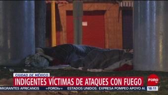 FOTO: Autoridades CDMX Investigan Ataques Contra Indigentes