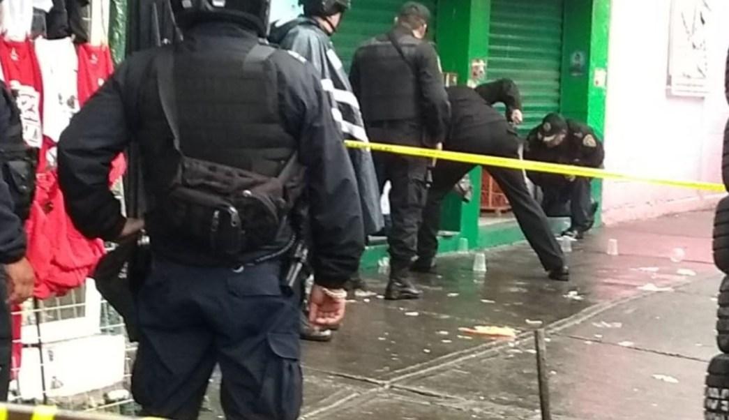 Foto: Una balacera se registró en la colonia Doctores de la CDMX, el 17 e octubre de 2019 ( S. Servín/Noticieros Televisa)