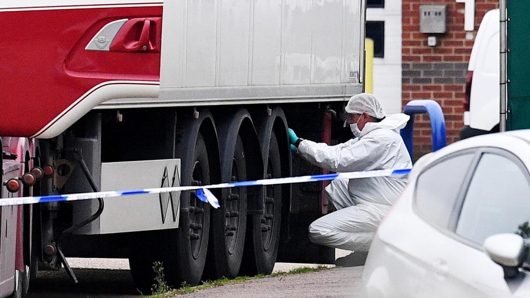 FOTO Bélgica abre investigación sobre 39 cadáveres hallados en Essex (Getty Images)