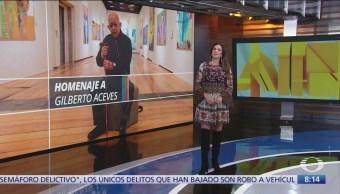 Bellas Artes rinde homenaje al artista plástico Gilberto Aceves