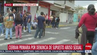 FOTO: Bloqueo intermitente avenida Insurgentes Eje 3 Sur