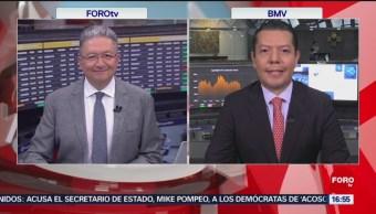 FOTO: Bolsa Mexicana Retrocede Espera Conversaciones Entre EEUU China